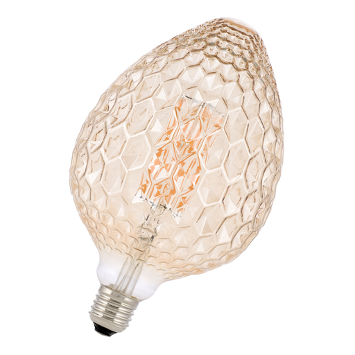 Afbeelding van Bailey Led filament pine cone e27 4w 2200k gold dimm LED-lamp