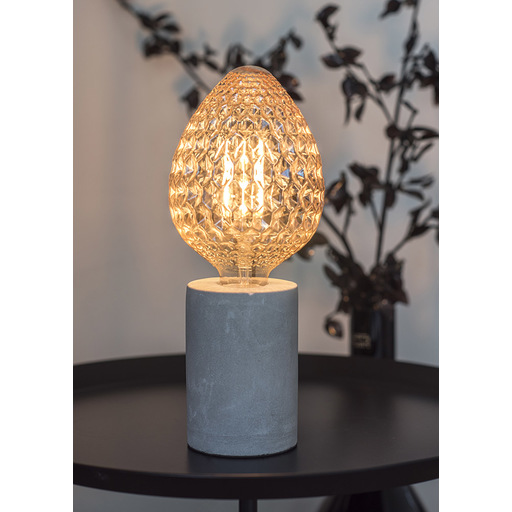 Foto van Bailey Led filament pine cone e27 4w 2200k gold dimm LED-lamp