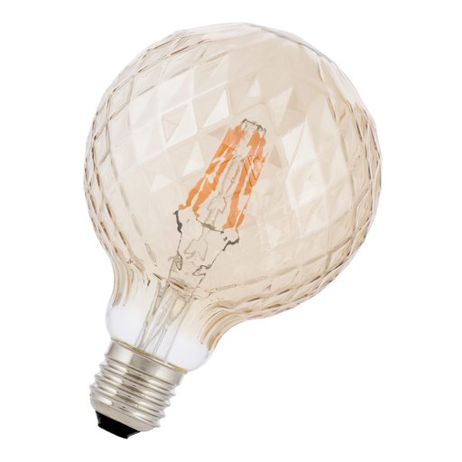 Afbeelding van Bailey Led filament pine g95 e27 3w 2200k gold dimm LED-lamp