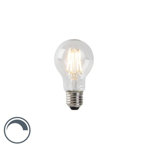 LED lamp A60 E27 4W 2200K helder filament dimbaar