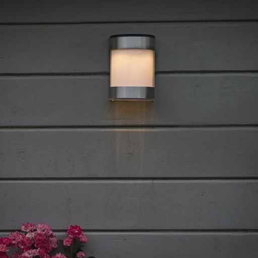 Buitenlamp Boston LED op zonne energie aluminium IP44