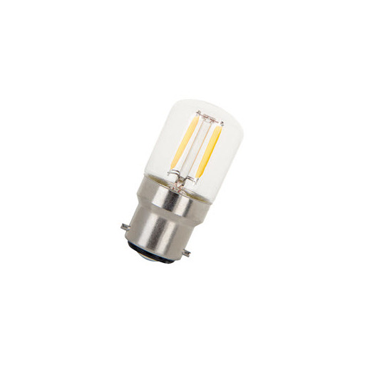 Afbeelding van Bailey Led filament t28x60 b22d 240v 1.6w 2700k clear LED-lamp