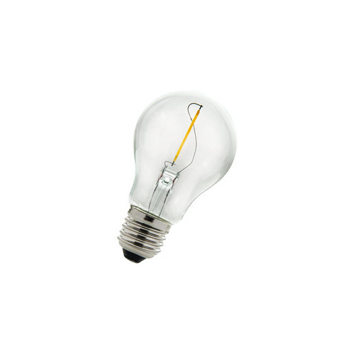 Afbeelding van Bailey Led filament a60 e27 240v 1w 2700k clear LED-lamp