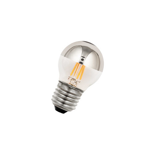 Afbeelding van Bailey Led filament g45 e27 240v 2w 2700k tm silver LED-lamp
