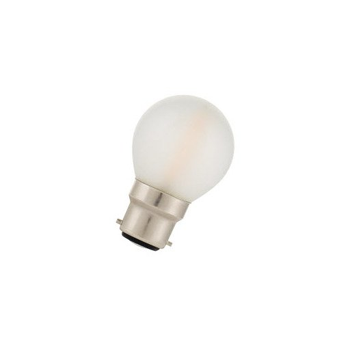 Afbeelding van Bailey Led filament g45 b22d 240v 2w 2700k frosted LED-lamp