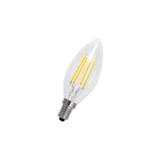 Afbeelding van Bailey Led filament c35 e14 240v 4w 3000-2200k dim-to-warm LED-lamp