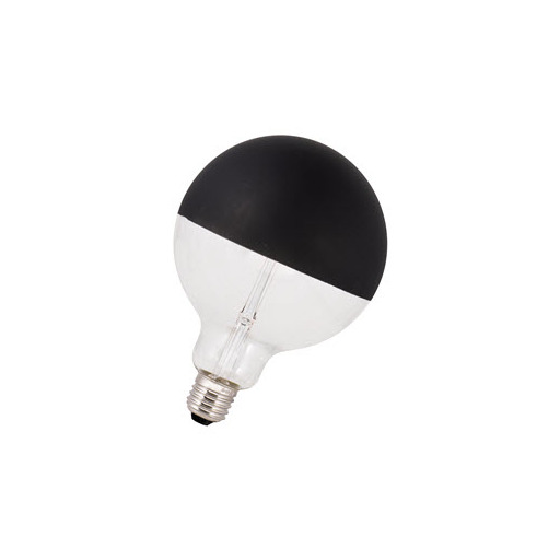 Afbeelding van Bailey Led filament g125 e27 5w 2200k tm black dimm LED-lamp