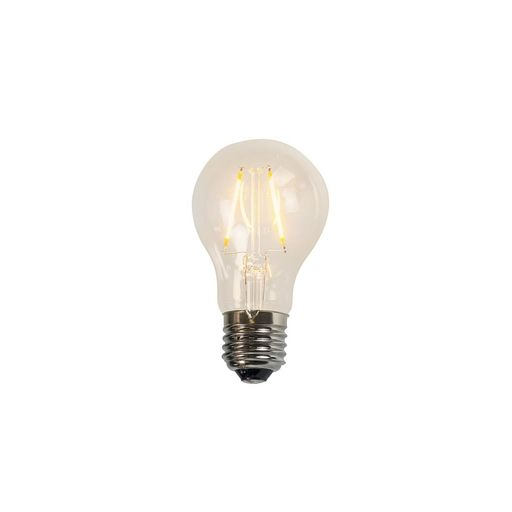 LUEDD Filament LED lamp A60 2W 2200K helder