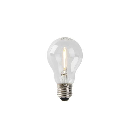 LED lamp A60 E27 1W 2200K helder filament