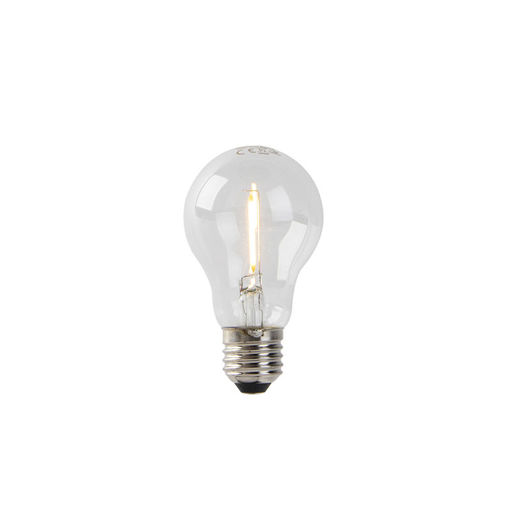 LUEDD LED lamp A60 E27 1W 2200K helder filament