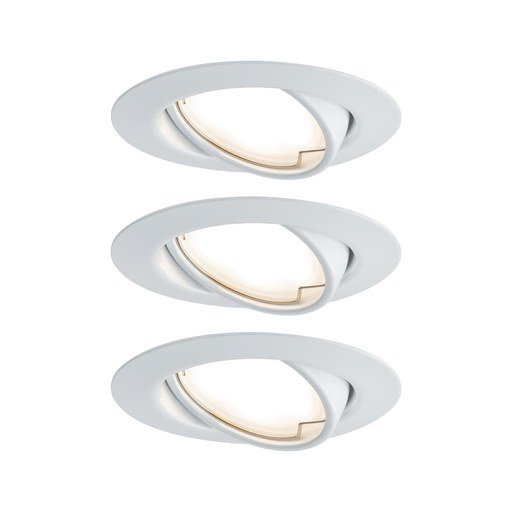 Afbeelding van Inbouwlamp LED Coin Base rond 5W wit
