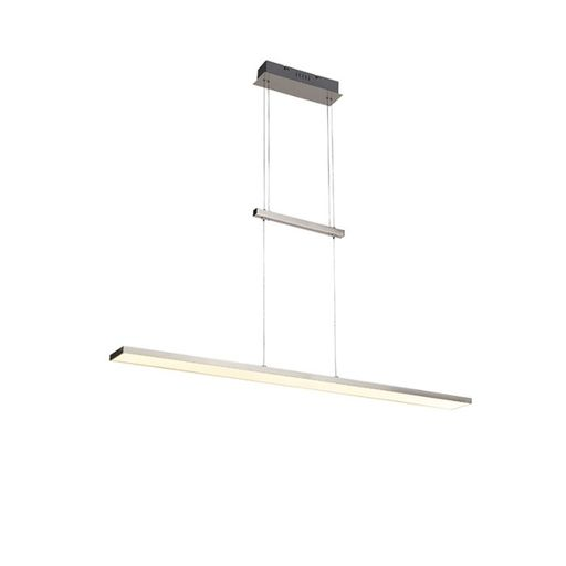 Moderne hanglamp staal incl. LED Riley