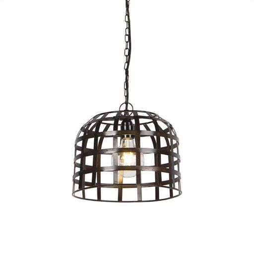 Industriele hanglamp 30cm staal Fence
