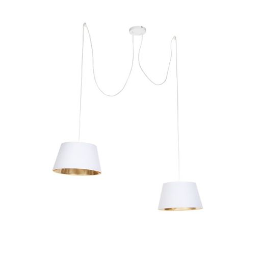 Moderne hanglamp wit Lofty
