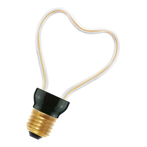 Bailey SpiraLED silhouette heart e27 8w 2200k dimm LED-lamp