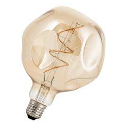 Bailey Led filament g125 big baby e27 240v 3w 2200k gold dimm LED-lamp