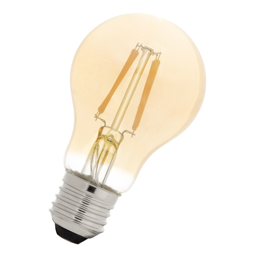 LED Filament A60 E27 240V 4W 2200K Gold Night Sensor