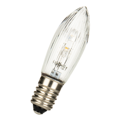 LED E10 C13.5X45 10-55V 0.3W 2100K RI CL