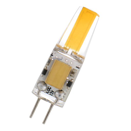 LED G4 12-24V AC/DC 1W 3000K Clear