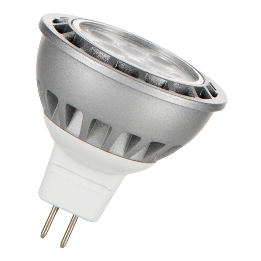 LED MR16 GU5.3 12V 7W 3000K 30D Alu