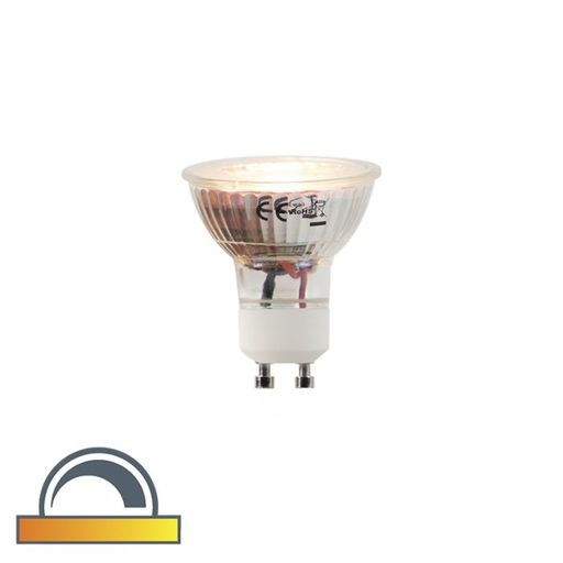 LED lamp GU10 5W 2000 2700K Dim to warm