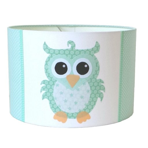 Kinderlamp uil sp mint