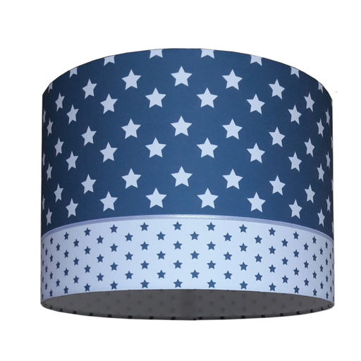 kinderlamp jeans blauw grote ster