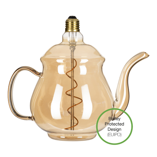 LED Teapot Earl Gold E27 4W 2200K