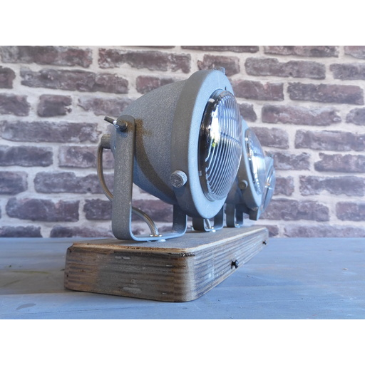Foto van Chericoni Bella Concrete&Vintage Wood 3 lights
