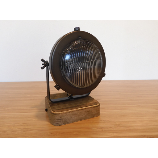 Foto van Chericoni Bella Burned Steel & Vintage Wood 1 lights