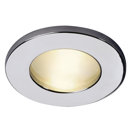Afbeelding van SLV Dolix out mr16 round chroom 1xgx5,3 wand- of plafondlamp
