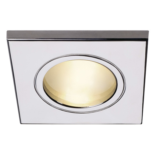 Afbeelding van SLV Dolix out mr16 square chroom 1xg5,3 wand- of plafondlamp