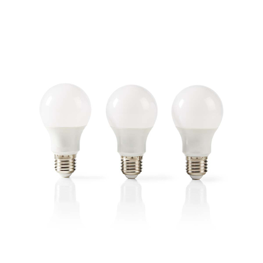 Afbeelding van Nedis LED-Lamp E27 | A60 | 5,7 W | 470 lm | 3-Pack