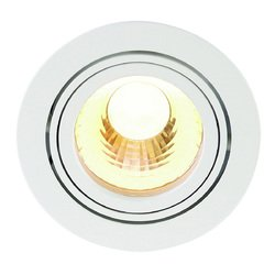 Afbeelding van SLV New tria LED disk round wit 1xLED 2700k 60° wand- of plafondlamp