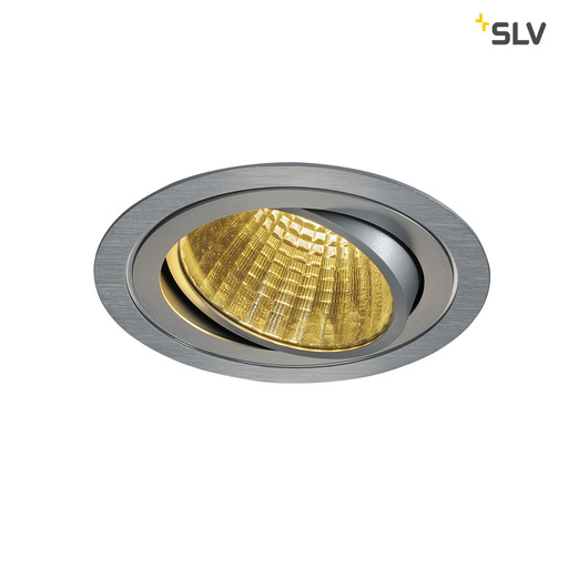 Energielabel van SLV New tria LED dl round set, alu geb 1xLED 2700k 25w wand- of plafondlamp