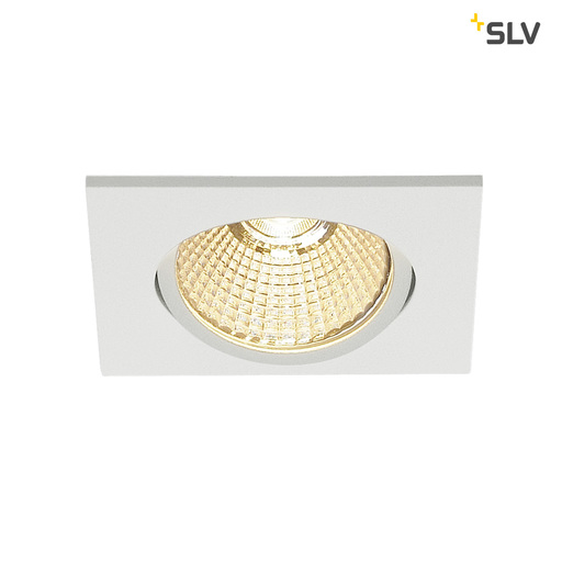 Afbeelding van SLV New tria 68 LED square wit mat 1xLED 3000k wand- of plafondlamp