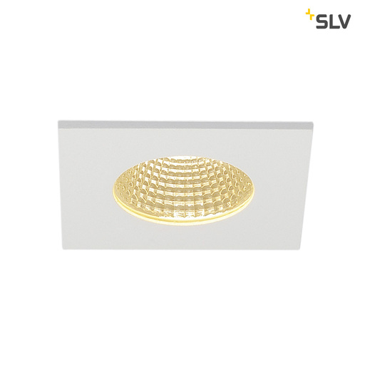 Afbeelding van SLV Patta-i square wit mat 1xLED 3000k wand- of plafondlamp