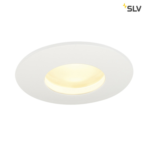 Afbeelding van SLV Out 65 LED dl round set wit 1xLED 3000k plafondlamp