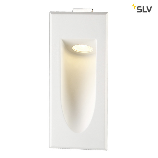 Afbeelding van SLV Led downunder mini wit 1xLED 3000k wand- of plafondlamp