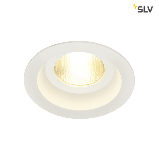 Afbeelding van SLV Contone round star wit 1xLED 3000k-2000k wand- of plafondlamp