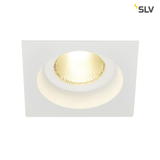 Afbeelding van SLV Contone square star wit 1xLED 3000k-2000k wand- of plafondlamp