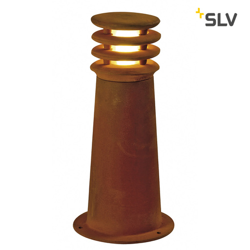 Normal pad 229020 rusty round 40 geroest staal 1xe27 006