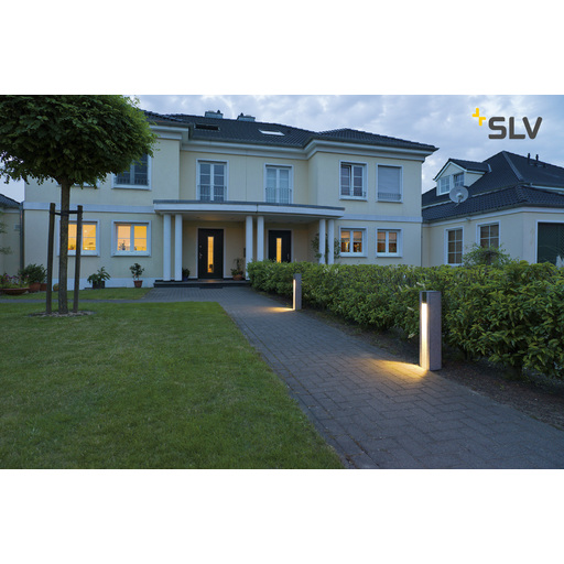 Foto van SLV Arrock slot GU10 salt/pepper 1xGU10 LED staande lamp
