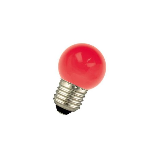 Afbeelding van Bailey Led ball g45 e27 220-240v 1w red LED-lamp