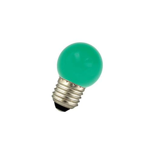 Afbeelding van Bailey Led ball g45 e27 220-240v 1w green LED-lamp