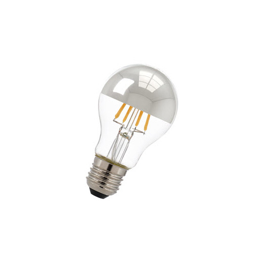 Afbeelding van Bailey Led filament a60 e27 240v 6w 2700k tm silver LED-lamp