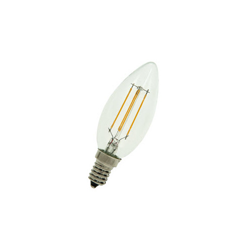 Afbeelding van Bailey Led filament c35 e14 240v 3w 2700k clear LED-lamp
