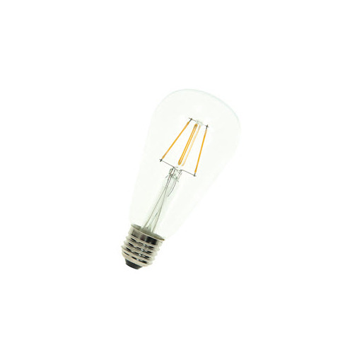 Afbeelding van Bailey Led filament st64 e27 240v 4w 2700k clear LED-lamp