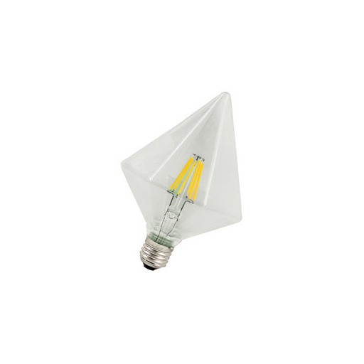 Afbeelding van Bailey Led filament pyramid e27 240v 5w 2200k dimm LED-lamp