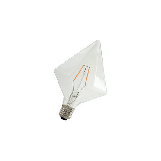 Afbeelding van Bailey Led filament pyramid e27 240v 2w 2200k dimm LED-lamp